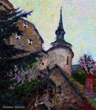 Михаил Лейкин. Замок Frauenstein.  Каринтия