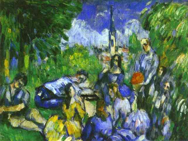 Paul Cezanne. Lunch on the grass