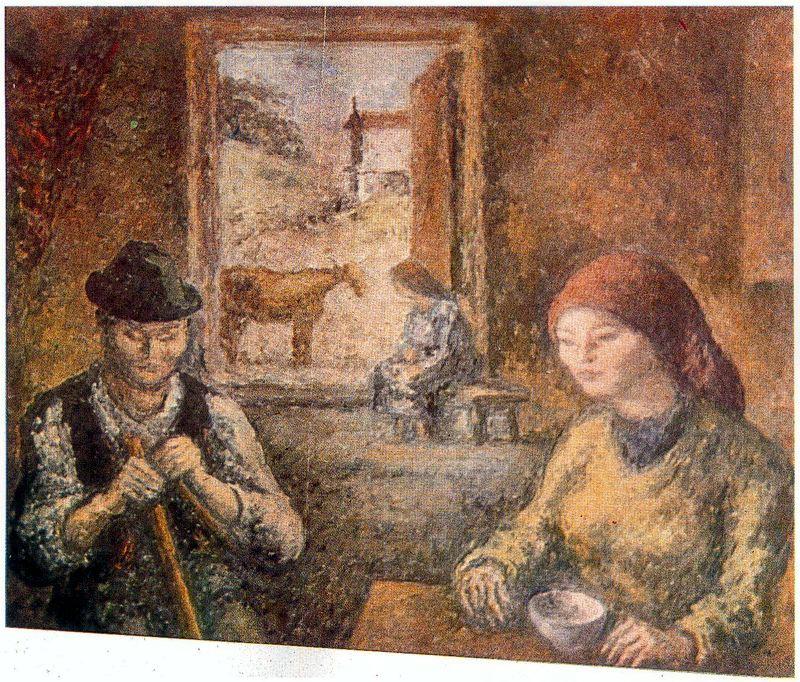 Arturo Souto. The conversation at the window
