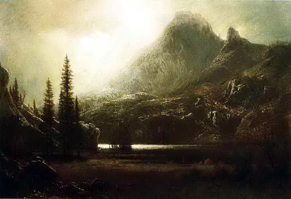 Альберт Бирштадт. Горное озеро