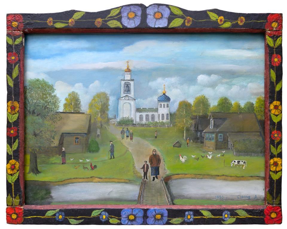 Alexander Vasilyevich Suvorov. Go from church