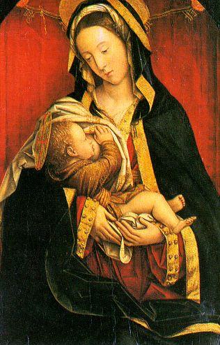 Дефендент Ферарри. Мадонна с ребенком