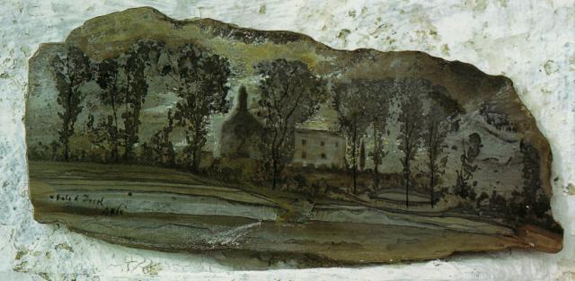 Salvador Dali. View of Pubol