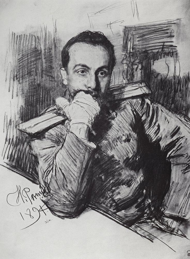 Илья Ефимович Репин. Портрет В. А. Жиркевича