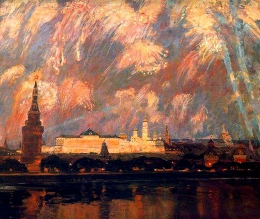 Victor Konstantinovich Dmitrievsky. Victory day