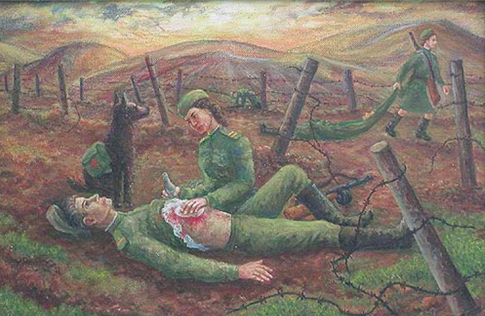 Anatoly Ivanovich Yakhrugin. After the attack
