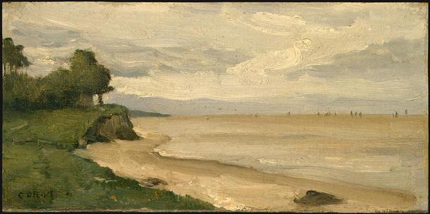 Камиль Коро. Пляж возле Этрета