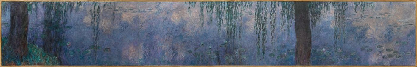 Claude Monet. Water lilies: morning willow