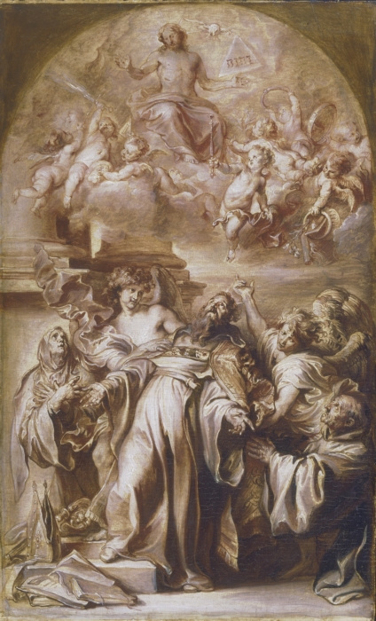 Anthony van Dyck. The ecstasy of Saint Augustine