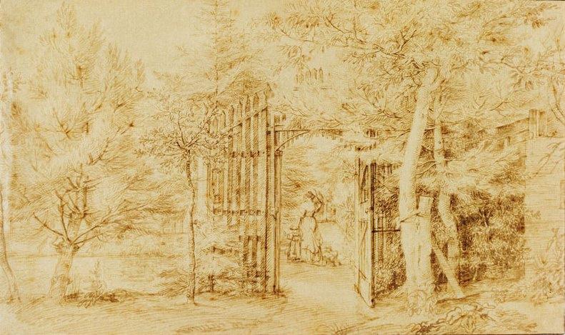 Ян Ливенс. Ворота в сад