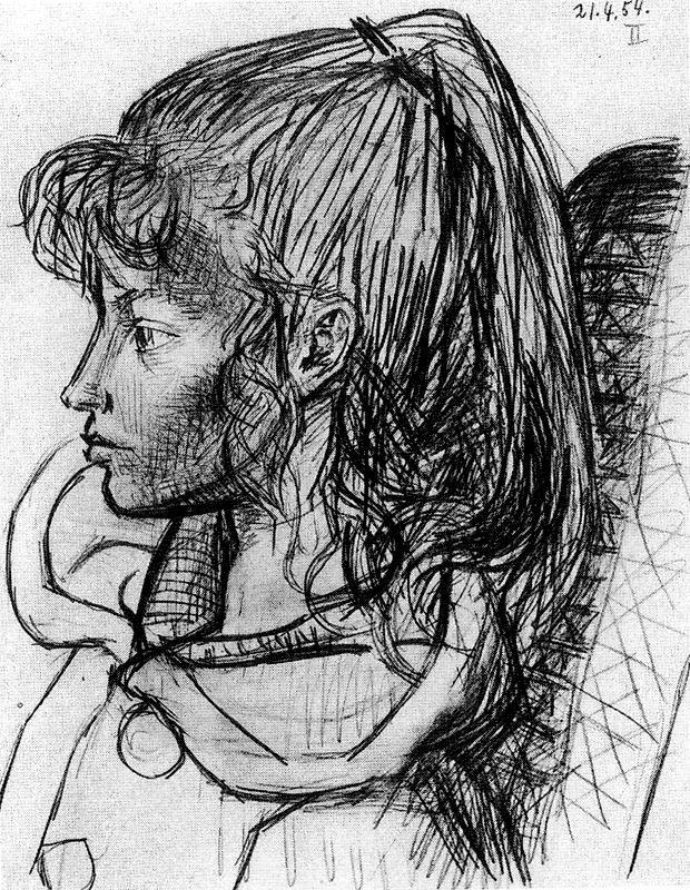 Пабло Пикассо. Девочка