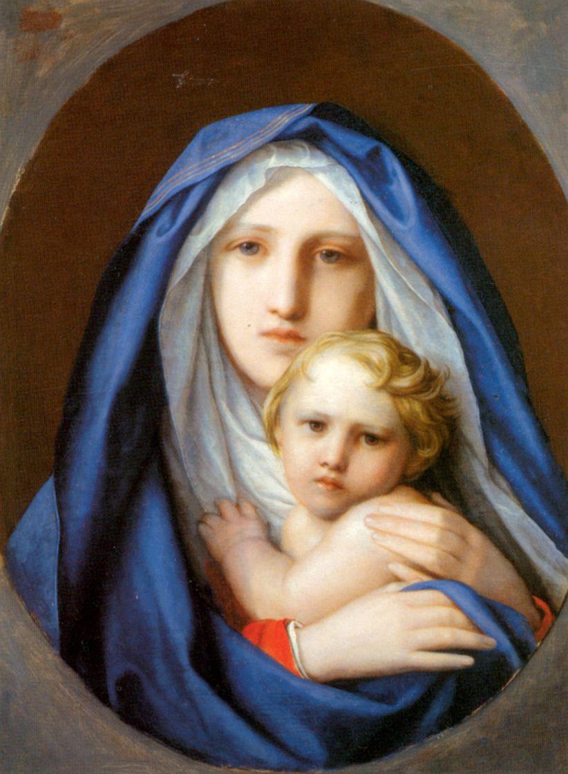 Fedor (Fidelio) Antonovich Bruni. The virgin and child