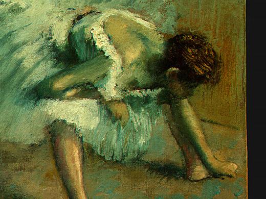 Эдгар Дега. Перед балетом