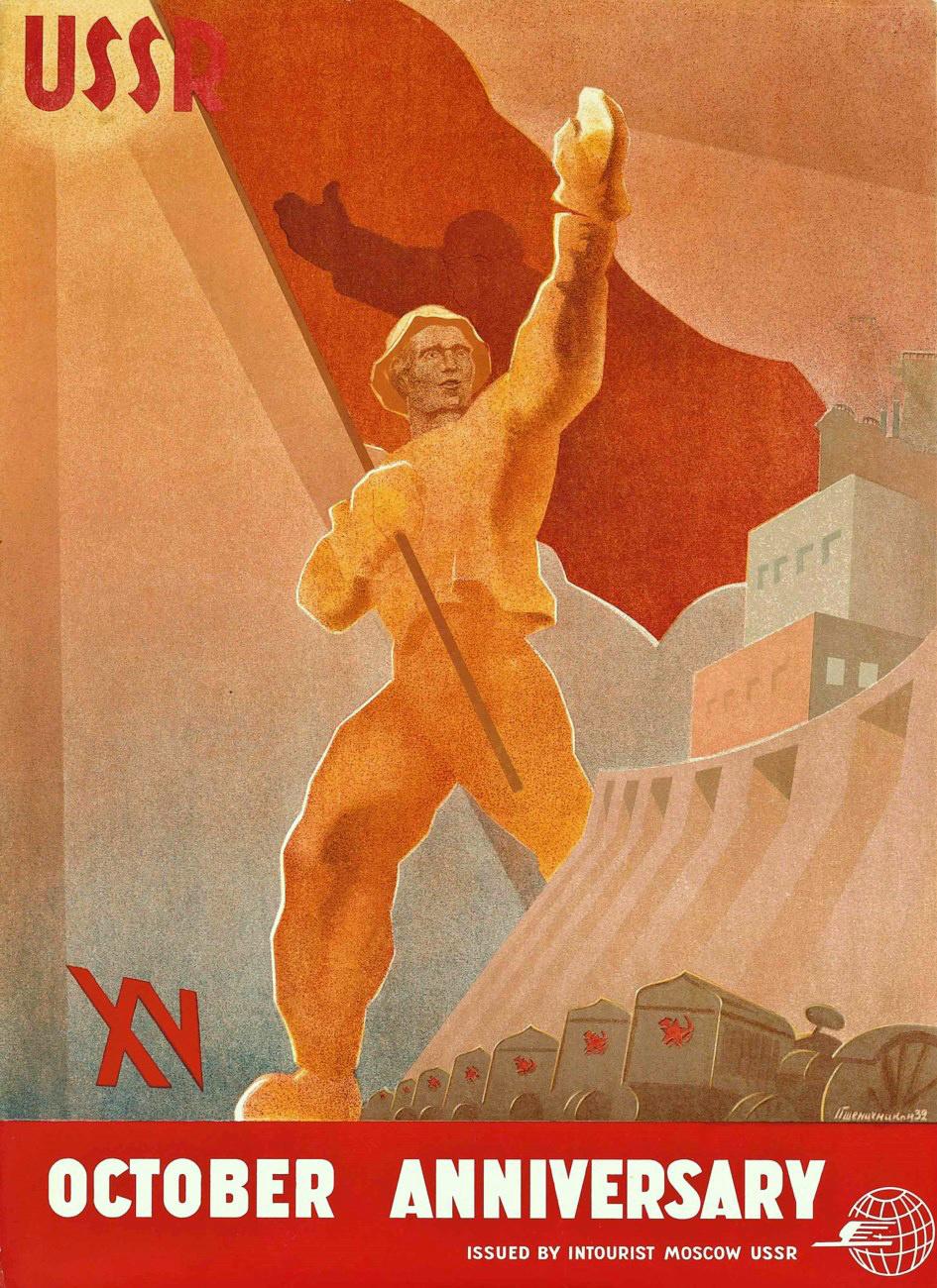 Vasily Sergeevich Pshenichnikov. USSR : October XV anniversary