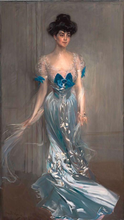 Giovanni Boldini. Portrait of Mrs. Graham Fair Vanderbilt