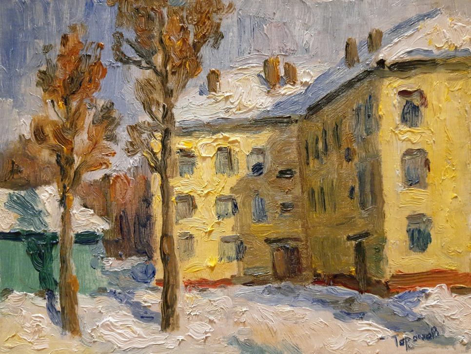Nikita Tarachev. Winter day