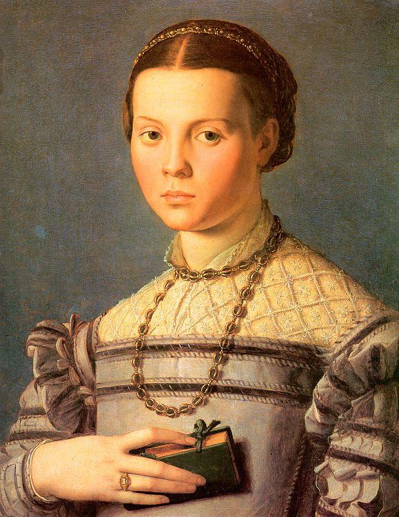 Аньоло Бронзино. Портрет женщины