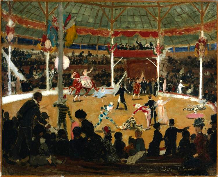 Suzanne Valadon. Circus