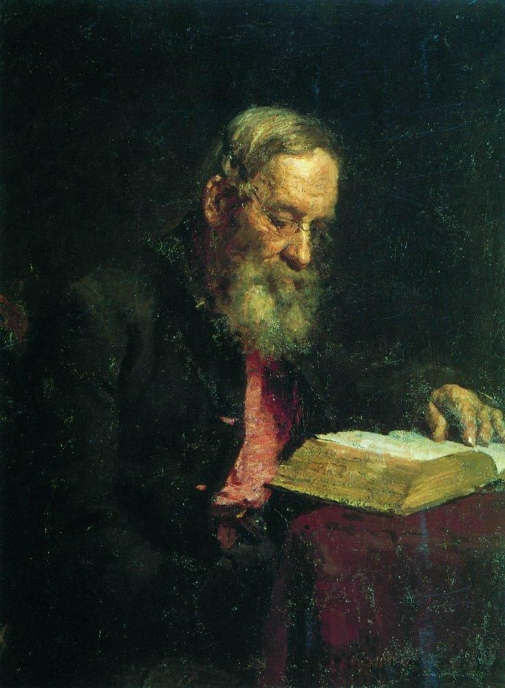 Илья Ефимович Репин. Портрет отца художника Е. В. Репина