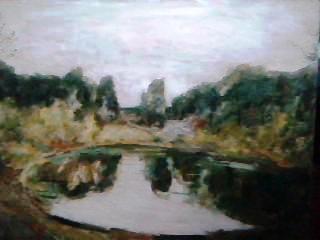 VALERY Viktorovich Shechkin. Pond
