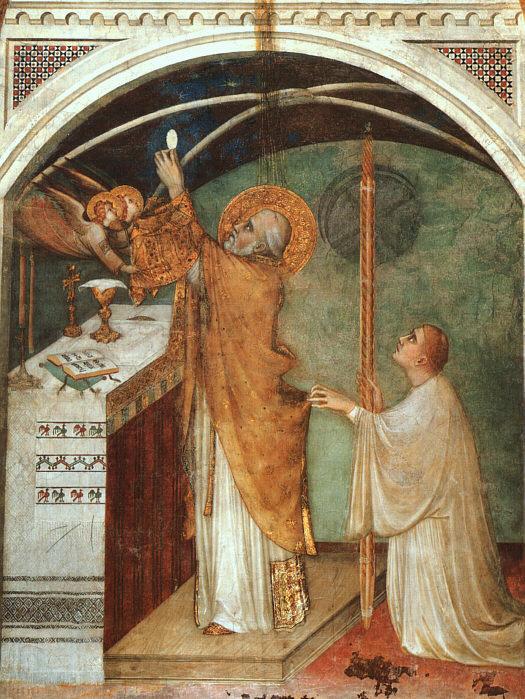 Simone Martini. The wonders of the mass