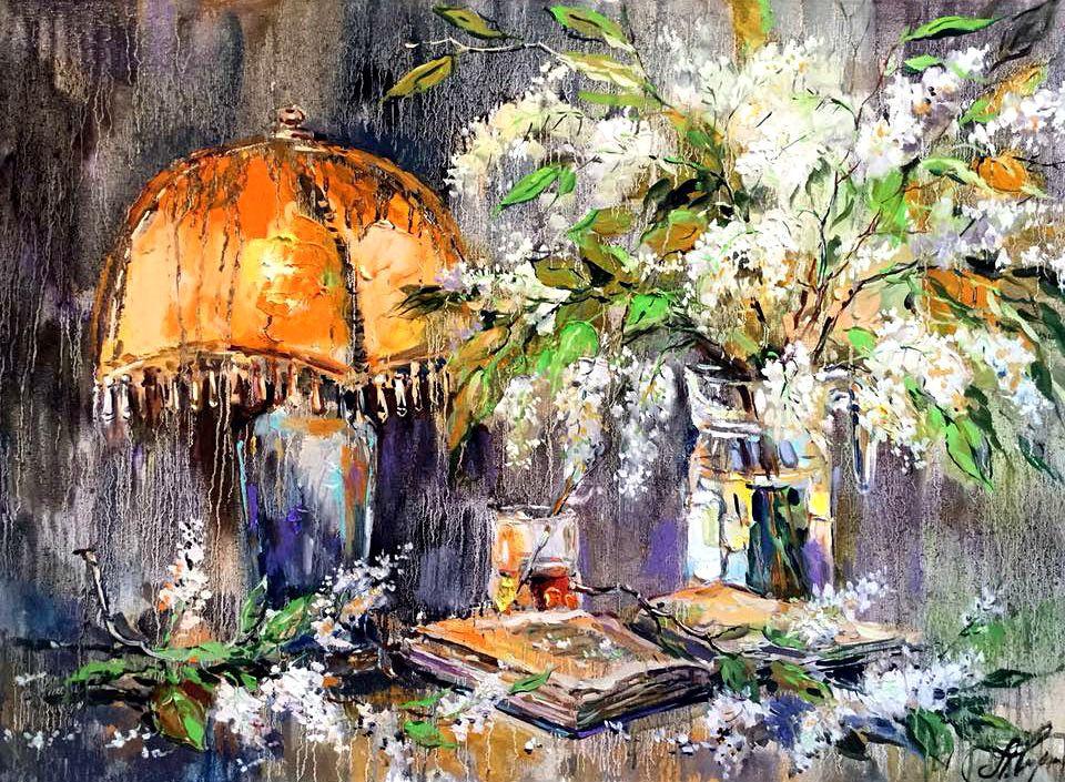 Anna Anatolyevna Charina. Under the red shade