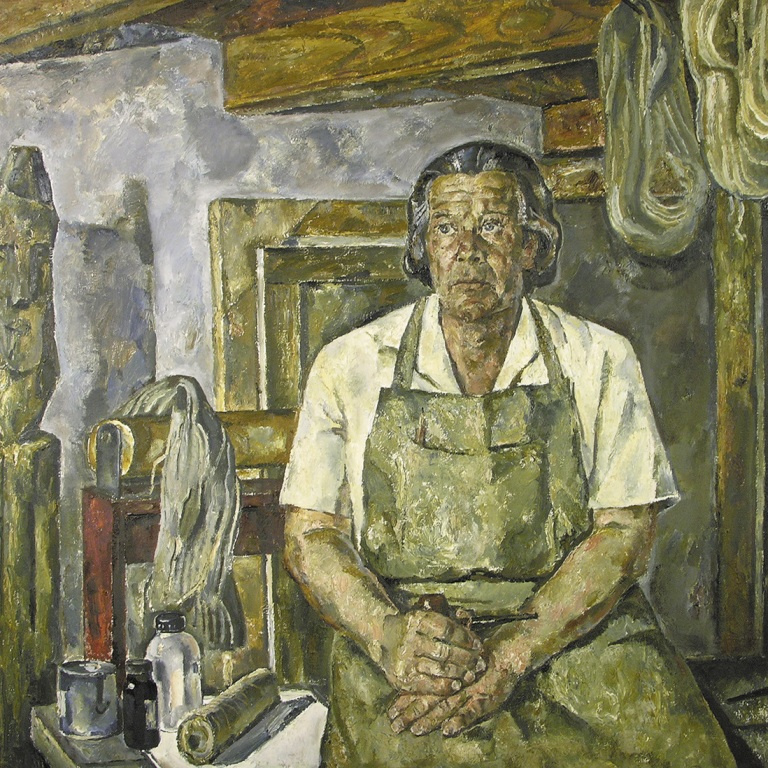Boris Borisovich Leifer. Portrait of the artist S. A. Dobryakov
