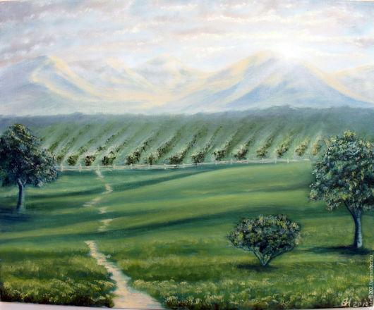 Natalia Egorova. Vineyards in the mountains