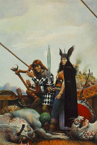 Don Maitz. The winners
