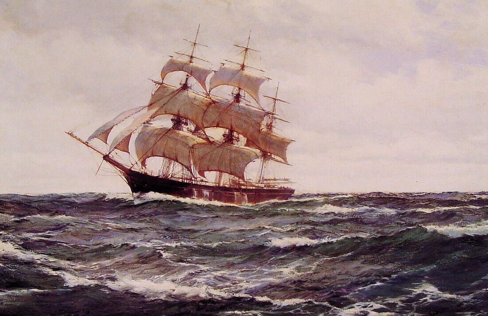 Монтегю Доусон. Славное море