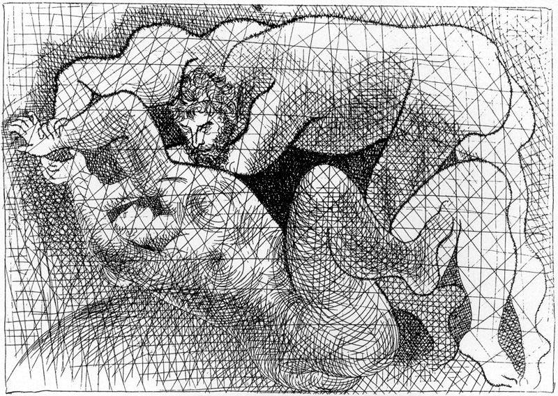 Пабло Пикассо. Сюита Воллара. Изнасилование