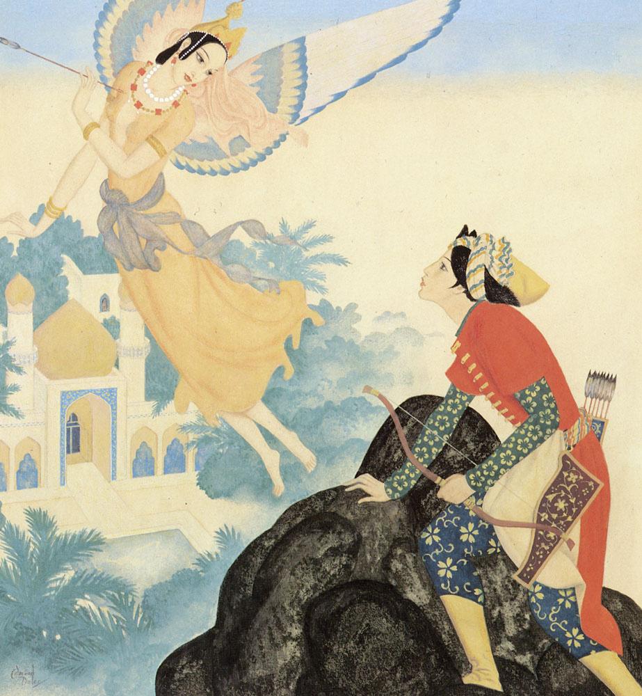 Эдмунд Дюлак. Пери Бану и принц Ахмед