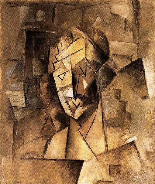 Пабло Пикассо. Голова женщины