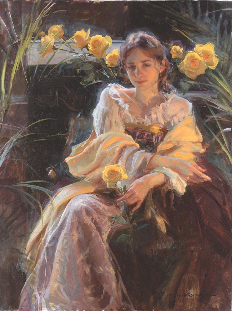 Даниэль Герхартц. Желтая роза