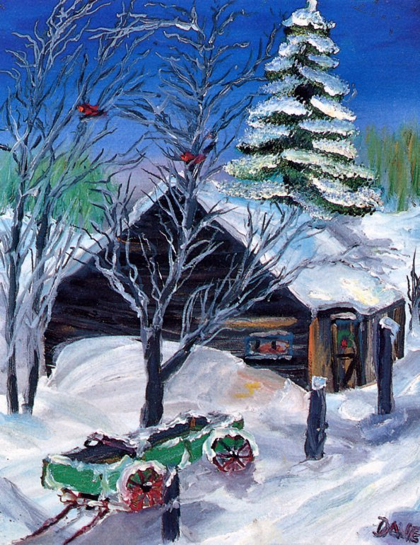 Дэйв Картер. Старая ферма зимой