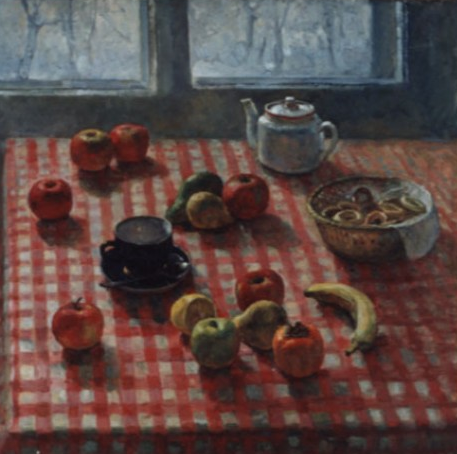 Aleksandr Chagadaev. Still life with fruit