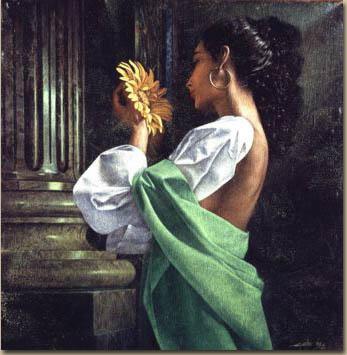 Уолтер Гиротто. Желтый цветок