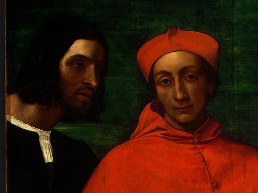 Себастьяно дель Пьомбо. Кардинал и его секретарь