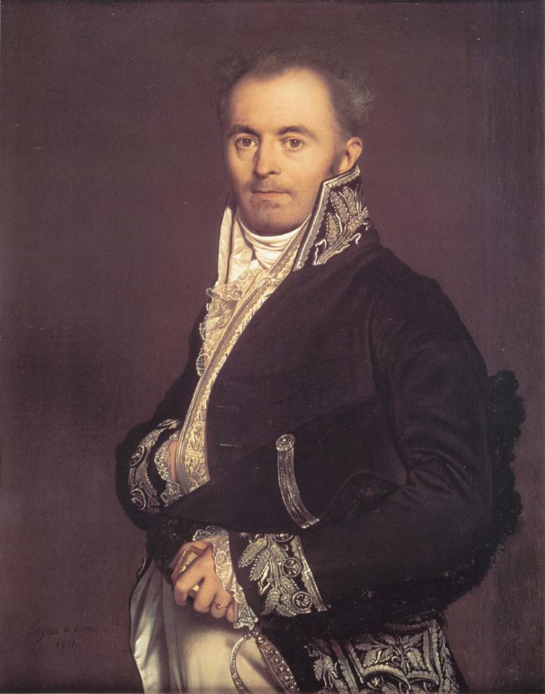 Жан Огюст Доминик Энгр. Ипполит-Франсуа Девиллер