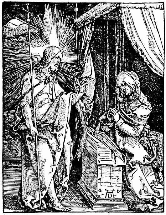 Альбрехт Дюрер. Явление Христа матери