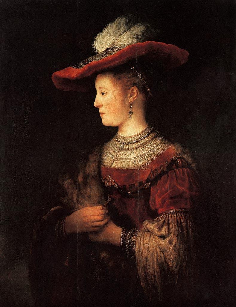 Rembrandt Harmenszoon van Rijn. Portrait Of Saskia (Saskia Young)