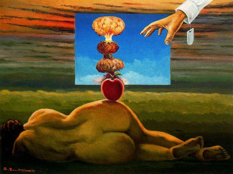 Эмилио Бонет Казанова. Красное яблоко