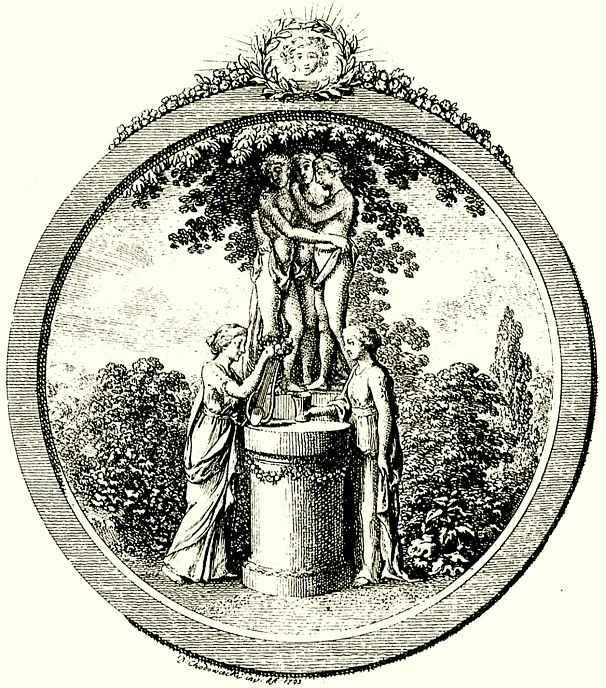 Даниэль  Николай Ходовецкий. Статуя