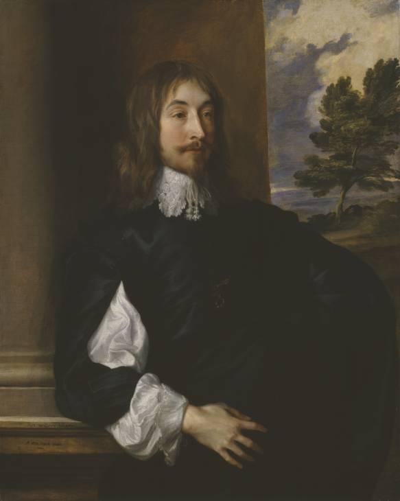 Anthony van Dyck. Portrait of sir William Killigrew