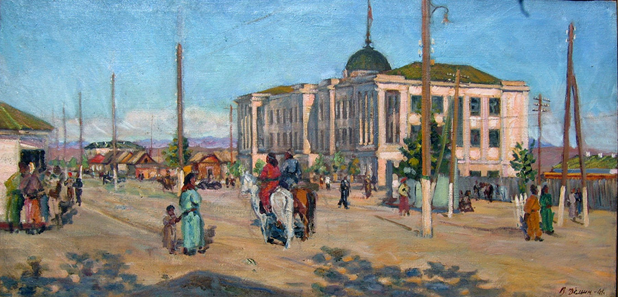 Vasily Fadeevich Demin. House of Government of TNR