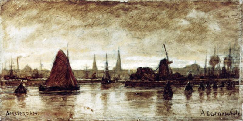 Alexey Petrovich Bogolyubov. Amsterdam