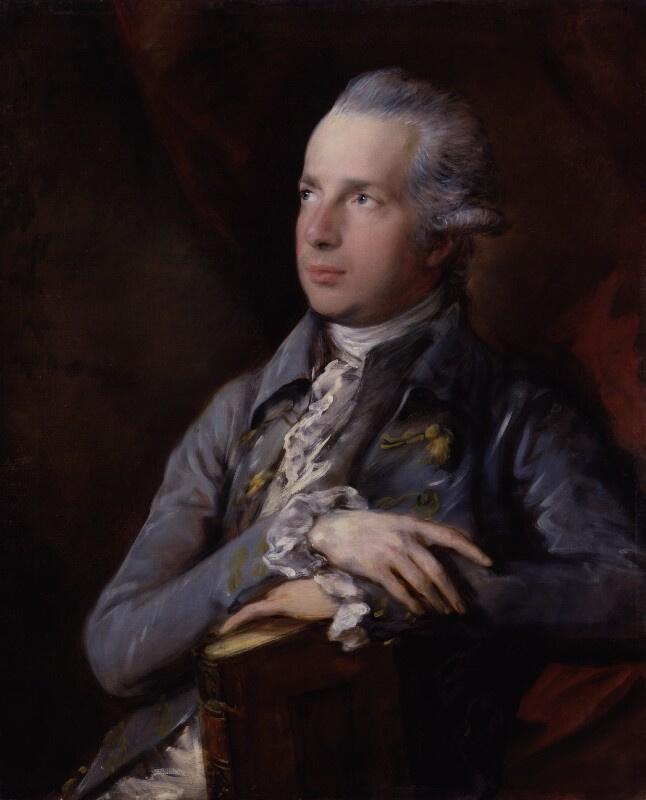 Thomas Gainsborough. George Colman The Elder