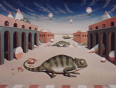 Mikhail Vasilyevich Gorshunov. City chameleons