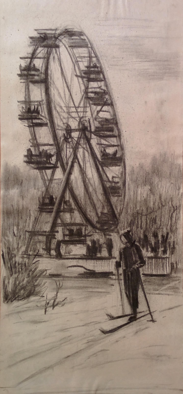 Dmitry Arkadevich Laptev. Ferris wheel