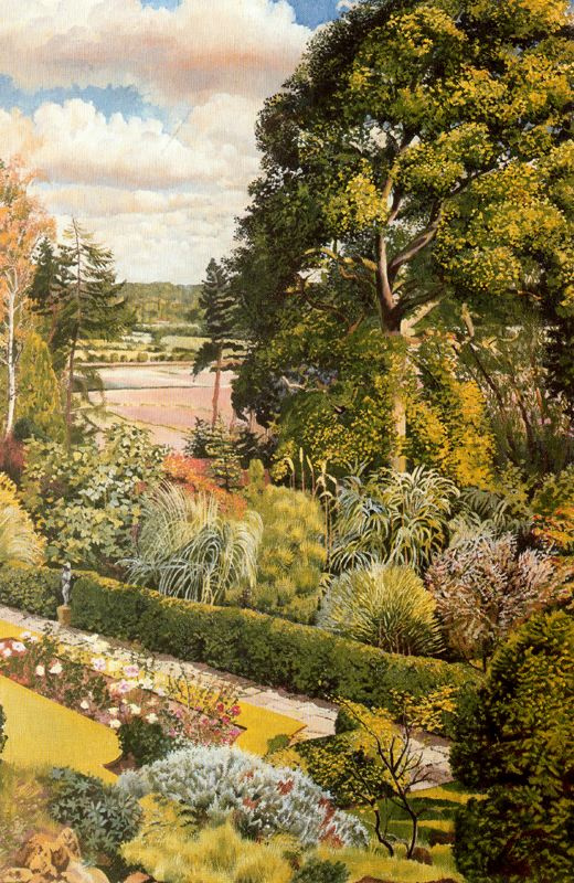 Stanley Spencer. Trees and shrubs